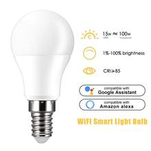 Bulb-Lamp Light-Bulb Magic-Light Google-Assistant Smart-Wifi 15W with Alexa And Voice-Control