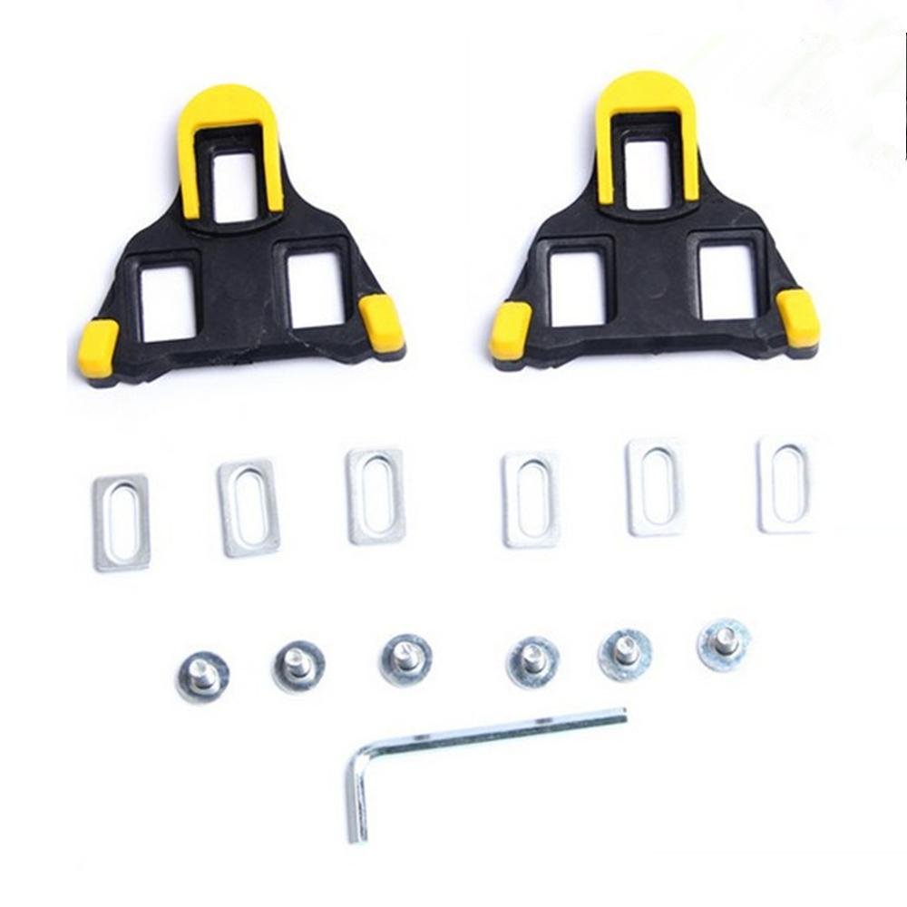 Road Bike Cleats for Most Cycling Shoes Self-locking Cycling Pedal Cleat for Shima no SH-11 SPD-SL(China)