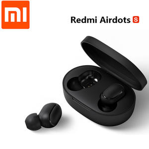 Xiaomi Redmi AirDots S Global & Chinese Version Low Lag Mode Left Right TWS Bluetooth Earphone True Wireless Stereo Auto Link