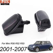 Jet-Nozzle-Kit Cooper Mini BMW Windscreen-Washer Front-Windshield 2001-2007 Xukey