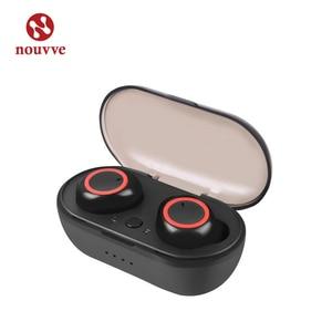 Image 1 - A2 TWS Bluetooth 5,0 наушники вкладыши, стерео беспроводные наушники, спортивные наушники, гарнитура с микрофоном для телефона Xiaomi Iphone