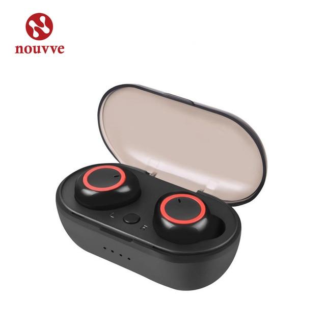 Tws sans fil Bluetooth écouteur Sport en cours dexécution Fitness mains libres voiture écouteurs avec micro Mini casque sans fil pour Xiaomi