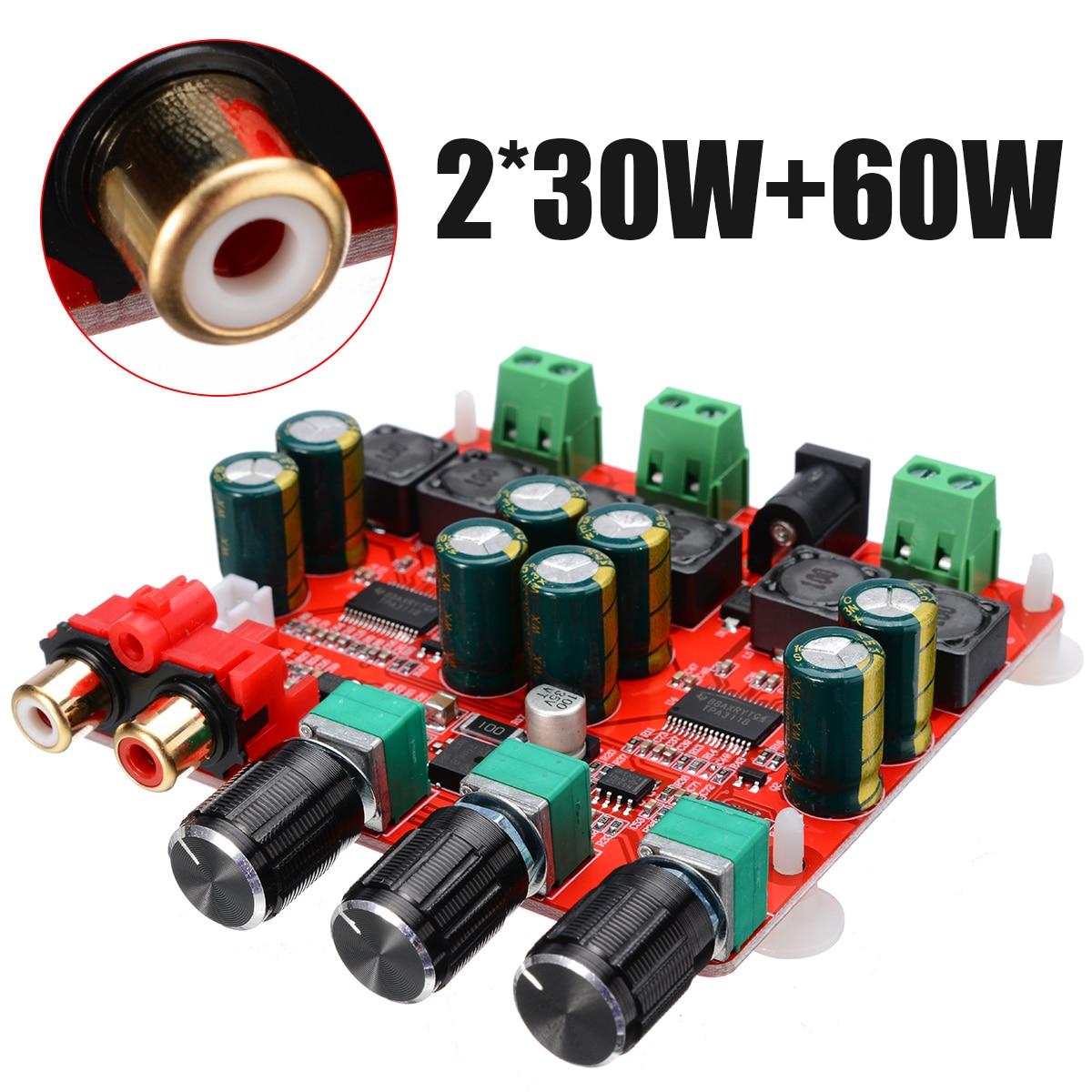 12V-26V DC TPA3118 Amplifier Boards 2x30W+60W 2.1 Channel Stereo Subwoofer Digital Power AMP Board For Speaker Audio
