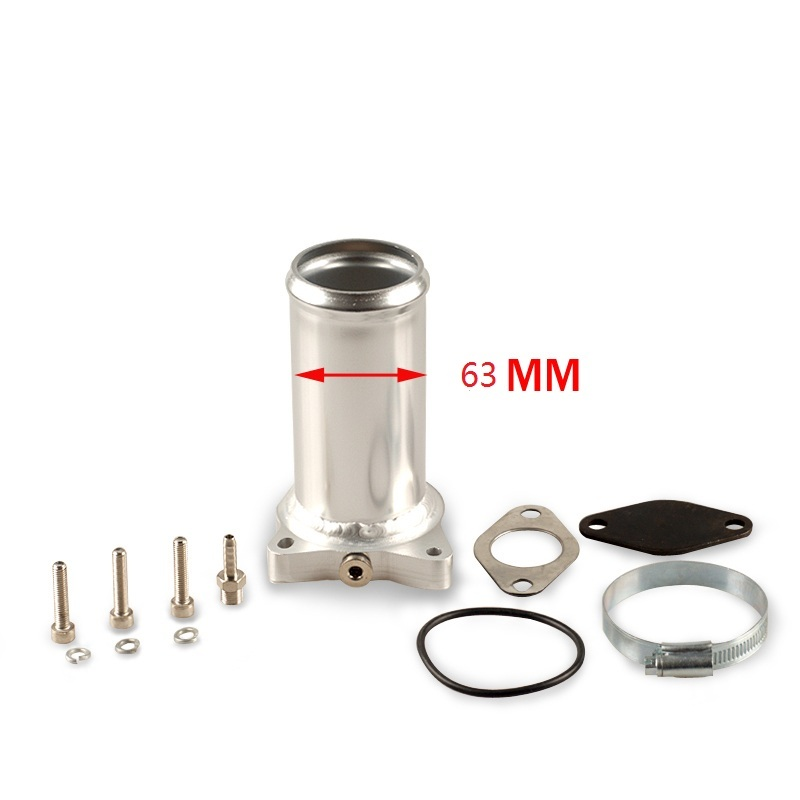 63 mm <font><b>2.5</b></font> inch hotsales EGR valve replacement for <font><b>audi</b></font> seat VW 1.9 <font><b>TDI</b></font> 130k 150k 160k BHP Diesel egr delete kits image