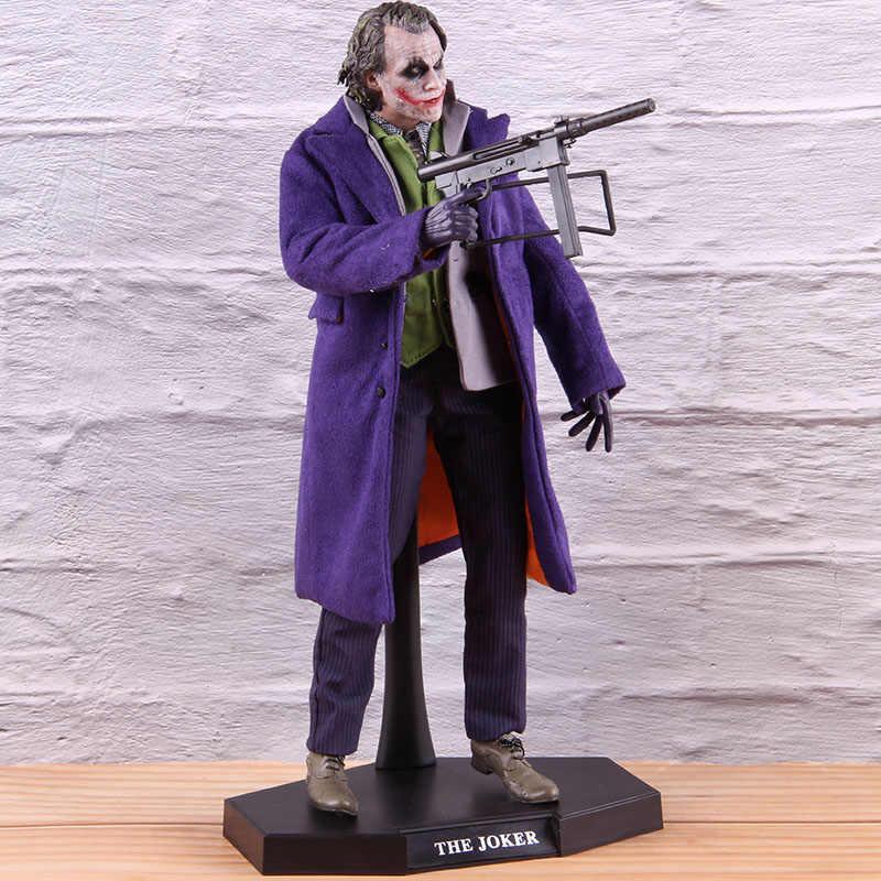 Il Joker di Batman The Dark Knight Pvc da Collezione Action Figure 1/6th Bilancia Modello Giocattoli Giocattolo Caldo Burlone 20 DX11