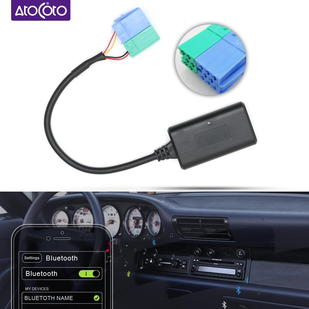 Bluetooth Audio Adapter Aux Cable 3.5mm input Jack for Porsche Becker cd host