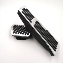 Car Foot Pedal Accelerator Gas Fuel Brake Pedal Pads Cover For BMW E60 E61 E90 E92 F10 F11 F01 F02 F25 F26 Car Accessories for bmw e90 e92 e93 f20 f21 f30 f31 f32 f33 f34 f15 f10 f01 f11 f02 g30 m performance side skirt sill stripe body decals sticker