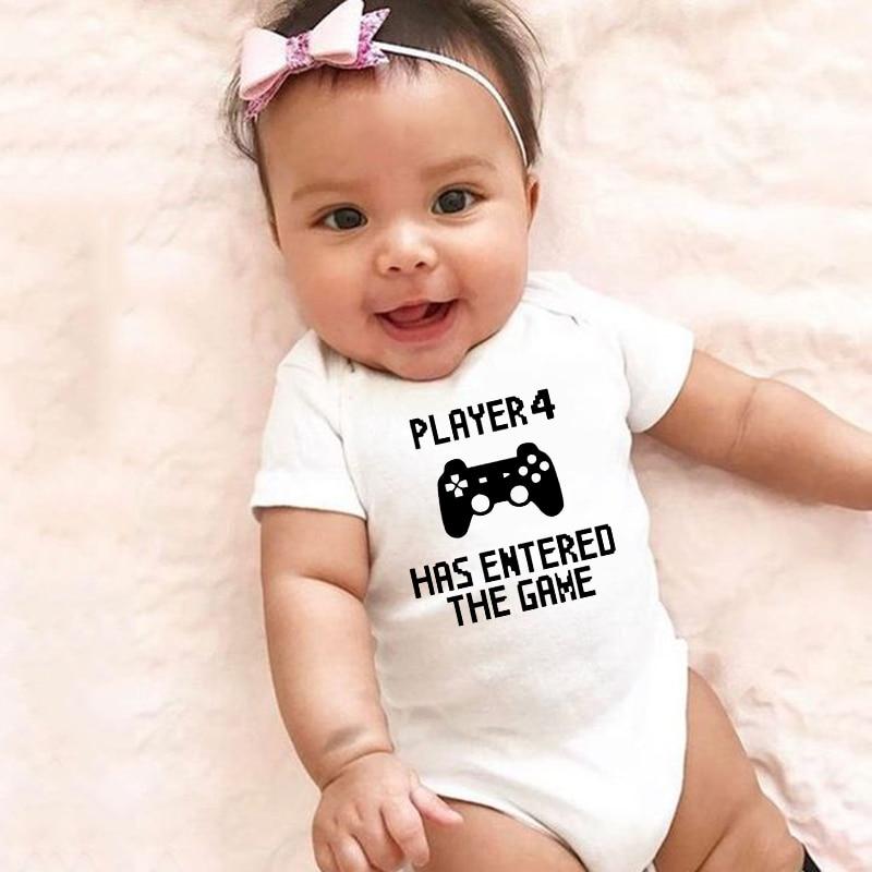 Детский комбинезон с коротким рукавом, на возраст 0-24 месяца