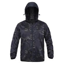 Clothing Jackets Hunting-Coats Tactical Camouflage Apparel Windbreaker Hooded Skin Outdoor