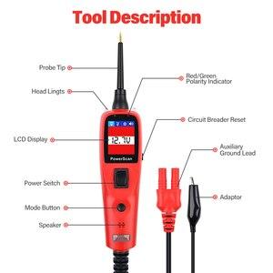 Image 5 - Autel PowerScan PS100 Elektrische System 12V/24V Diagnose Circuit Tester Werkzeug Elektrischen Tester & Test Führt
