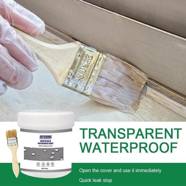 30/100/300g Waterproof Invisible Adhesive Agent Super Strong Bonding Glue Sealant Leak-proof Bathroom Repair Invisible Adhesive