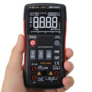 Image 2 - RM409B Digital Multimeter Taste 9999 Zählt Mit Analog Bar Graph AC/DC Spannung Amperemeter Strom Ohm Auto/Manuelle