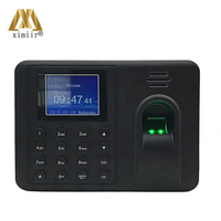 ZK New arrived K50 Biometric fingerprint recognition time attendance 1000 capacity fingerprint recognition time clock
