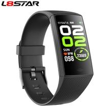 L8star inteligentna bransoletka multi sport ciśnienie krwi pulsometr krokomierz opaska monitorująca aktywność fizyczną inteligentny zegar mężczyzna kobiet nadgarstek