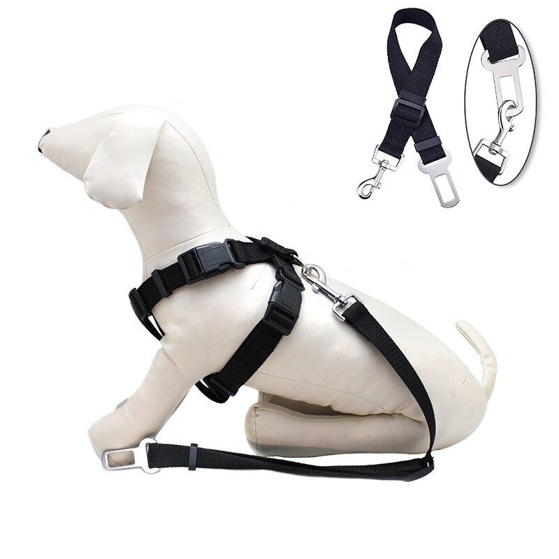 Vehicle-mounted Pet Mat Safety Belt Dog Car Pet's Chest-back