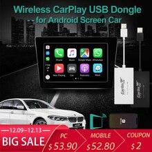 Беспроводной ключ Apple CarPlay для Android навигационного плеера