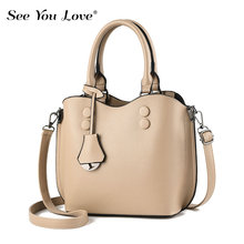 New Solid Luxury Ladies Crossbody Bags For Women 2019 Brand