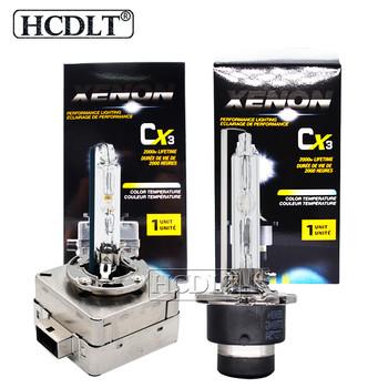 HCDLT 2 sztuk Super jasne żarówki reflektorów samochodowych 35W 55W D1S 6000K metalowa ukryta żarówka lampy D2S D3S D4S ksenonowe światła 4300K 5000K 8000K tanie i dobre opinie 12 v d1s xenon xenon d1s 55w d1s xenon bulb xenon d1s 35w d3s xenon bulb wholesale d1s hid d1s 55w d1s hid xenon bulb d1s 6000K 55w