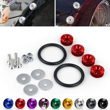 Bolts Buckle JDM Front Rear-Bumper-Hatch Car And Ce for Screws Nuts Detachable Surrounding-Pad