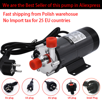 HomeBrew Pump MP-15R Food Grade 304 Stainless Steel Brewing Home brew 220V Magnetic Water Pump Temperature 140C 1/2 BSP/NPT