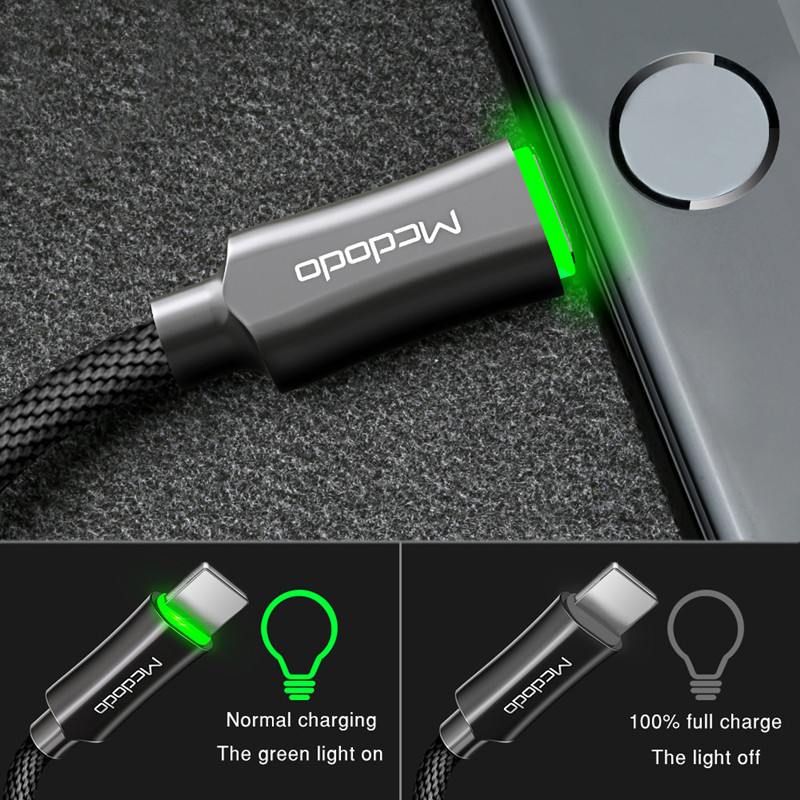 Auto Disconnect Data Cord Fast Charging Cable
