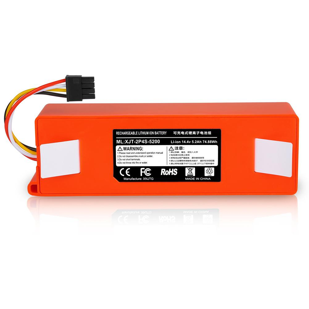 Adoolla 14.4V Lithium Battery Replacement Batteries For Xiaomi Vacuum Cleaner Sweeper Accessories