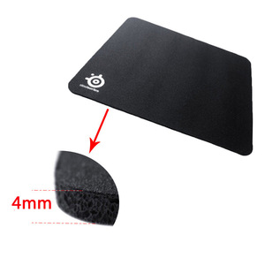 Image 2 - OEM SteelSeries Rubber Base Notebook Gaming Mouse Pad Computer Black Mousepad Gamer Laptop Keyboard Desk Mat without box