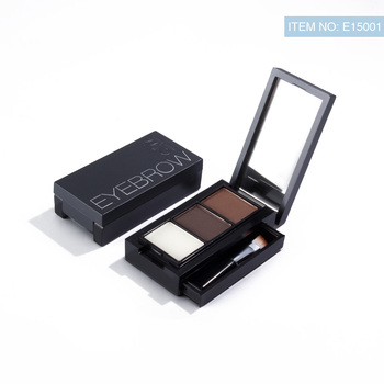 Pro 2 Color Eyebrow Enhancer Makeup Eyebrows powder Long-lasting Waterproof With Brush Mirror Cosmetic Kits