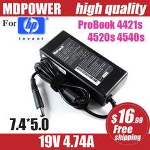 Mdpower для hp probook 4421s 4520s 4540s мощность ноутбука питания