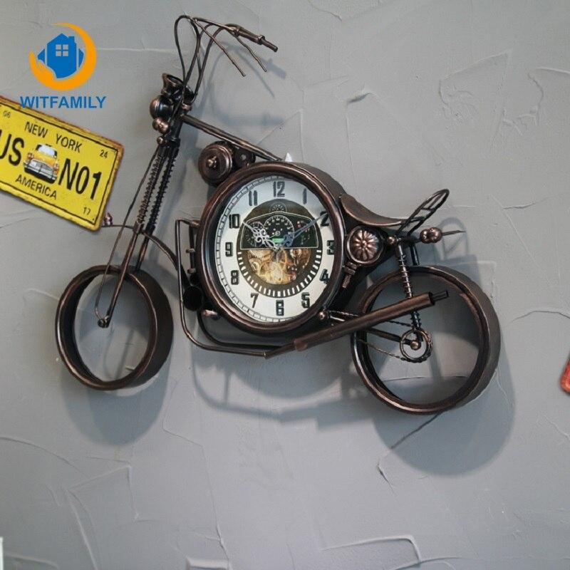 Horloge suspendue Design moderne horloges à Quartz silencieuses mur accessoires de décoration de maison horloge murale grande et créative