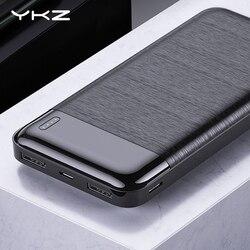 YKZ כוח בנק 10000 mAh נייד טעינת PowerBank 10000 mAh USB PoverBank חיצוני סוללה מטען עבור iPhone שיאו mi mi