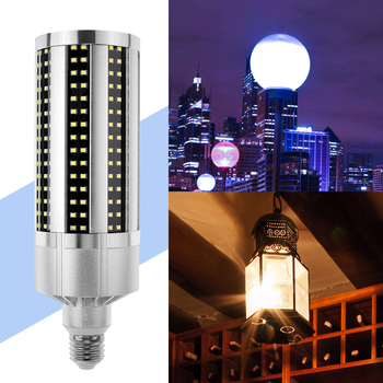 Corn Bulb LED Lamp 60W 54W 50W LED Bulb E27 220V Lampada LED Light 110V E39 Outdoor Ampoule Warehouse Lighting SMD 2835 led light e27 led lamp bulb 220v e39 led bulb 50w ampoule 110v high lumen lamp for workshop warehouse factory lighting 5730smd