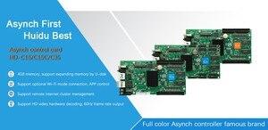 Image 4 - Huidu HD C35 กลางแจ้งในร่มสีAsynchronousส่งการ์ดเพิ่มWIFI 4G 1024*512 พิกเซล