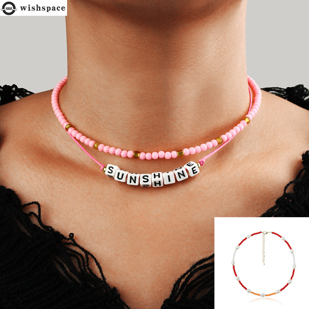 2020 summer autumn popular new Bohemia collarbone chain fashionable woman necklace jewelry wholesale
