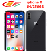 Apple iPhone X Unlocked Face ID LTE 5.8 inch Hexa Core IOS RAM 3GB ROM 64/ 256GB Fingerprint