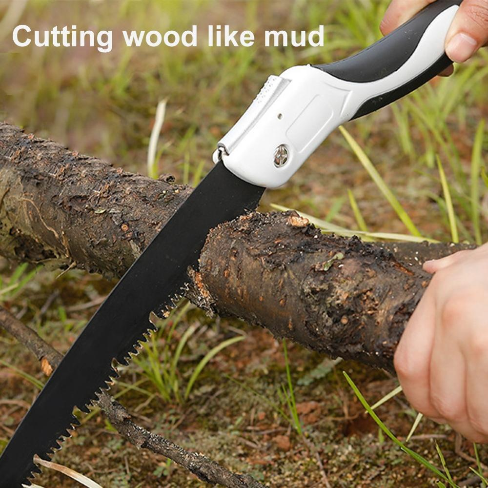 Wood Hand Saw Hand Folding Saw SK5 Steel Outdoor Wood Camping Grafting Pruner Woodworking Cutting Tools Professional Hand Saw
