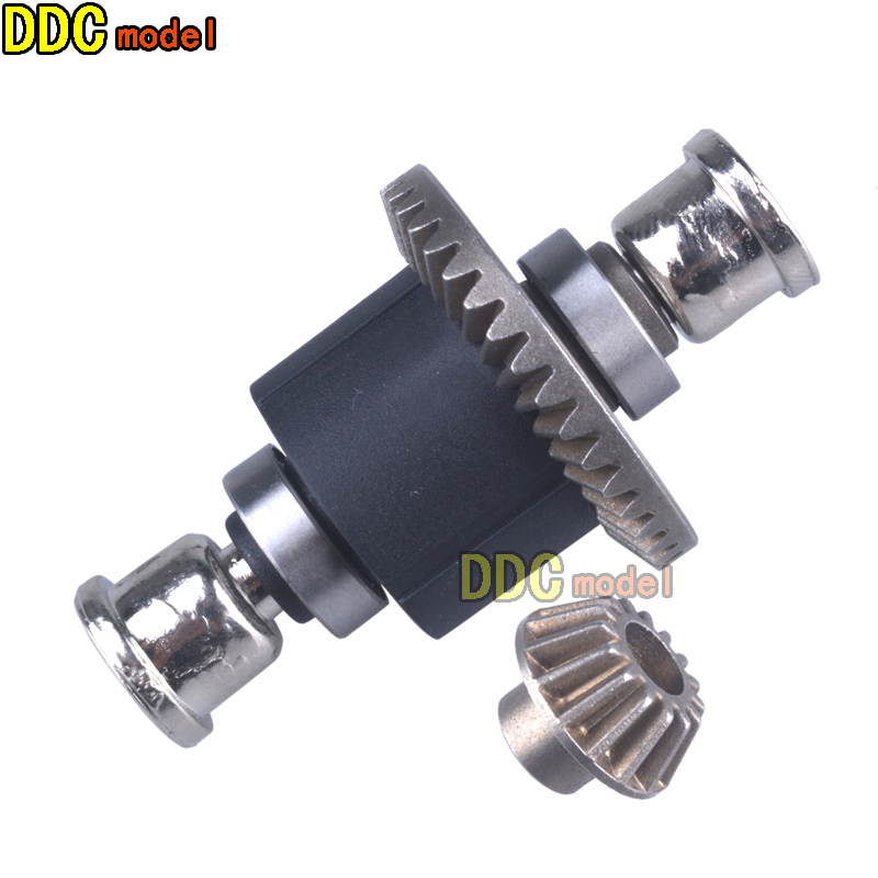 Remo 1/16 For 1621 1625 1631 1635 1651 1655 RC Car Upgrade Parts P6957 Differential Gear Assembly Sintered Hardened Steel Gears