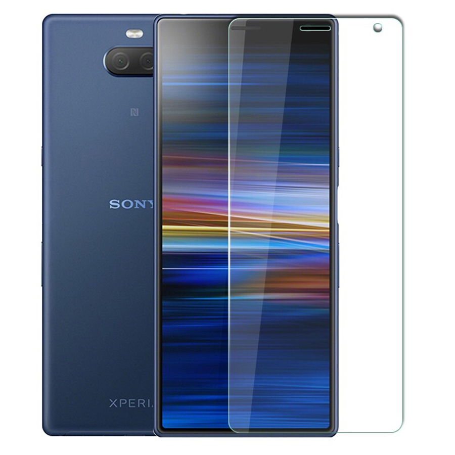 9H Tempered Glass For Sony Xperia <font><b>10</b></font> Protective Glass For Sony Xperia <font><b>10</b></font> Plus XA3 XZ4 <font><b>1</b></font> Tempered Glass Screen Protector Film image