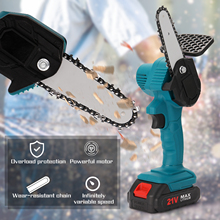 21V-24V Electric Saw Chainsaw Mini Electric Pruning Saw Rechargeable Woodworking Power Tool Wood Cutting machine With Battery