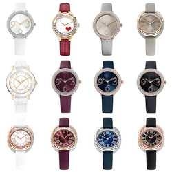 Оригинальный SWA австрийский бренд Роскошные часы Кристалл Вольфрамовая сталь Часы с оригинальным логотипом мужские и женские парные часы о...