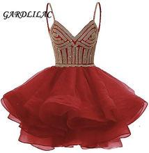 Женское Короткое платье из органзы gardlilac вечерние платья