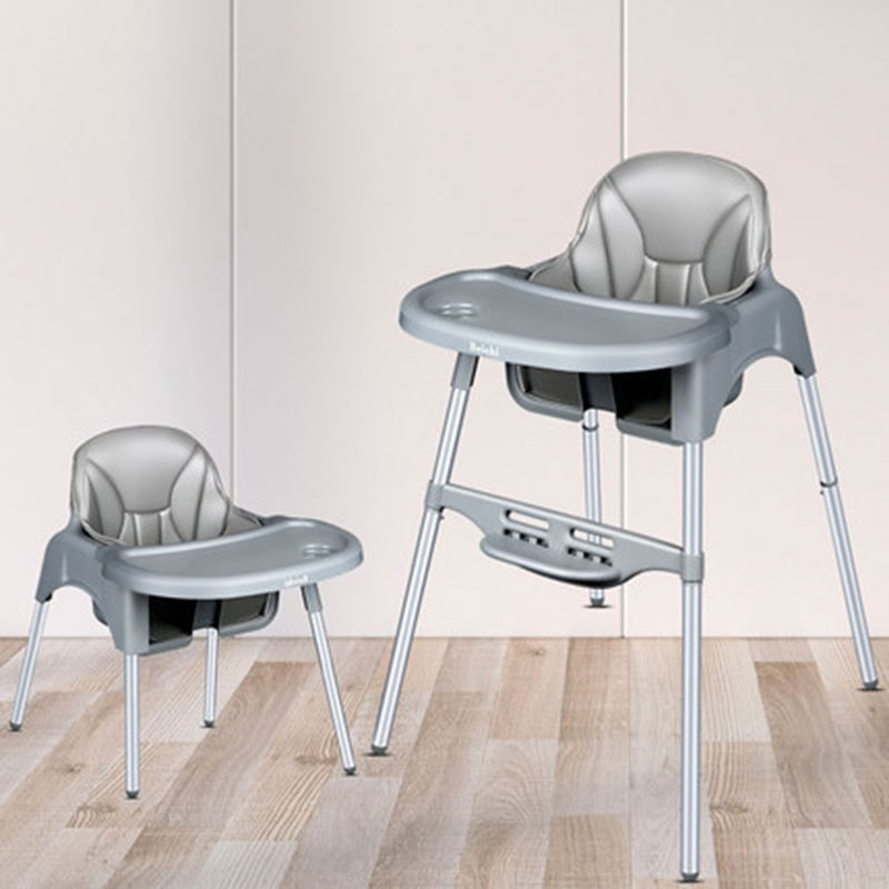 Baby Dining Chair Foldable Portable Children's Multi-Function Dining Table Can Be Adjusted In Two Materials