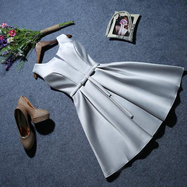 Vestido de noche para mujer, vestido de fiesta corto 2