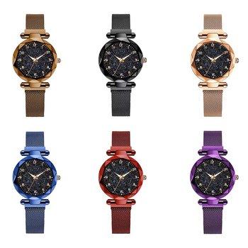 2020 New Casual Women Gypsophila Bling Rhinestone Crystal Strap Watch Fashion Luxury Quartz Watches