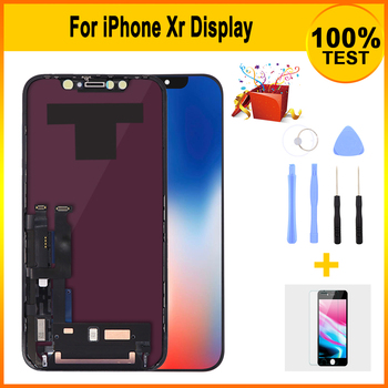 Premium AAA+ LCD Screen For iPhone XR LCD Display with 3D Touch Screen Digitizer Assembly Replacement