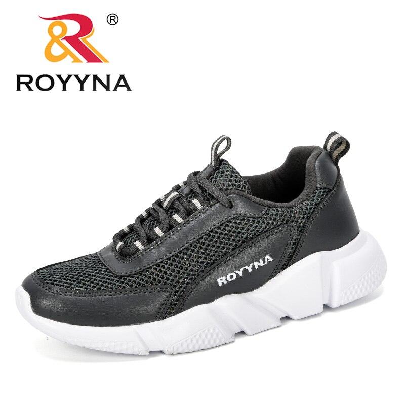 ROYYNA/Новинка 2019 года; дизайнерская популярная повседневная женская обувь; женские дышащие кроссовки из сетки на шнуровке; zapatillas mujer; Уличная обувь|Обувь без каблука|   | АлиЭкспресс