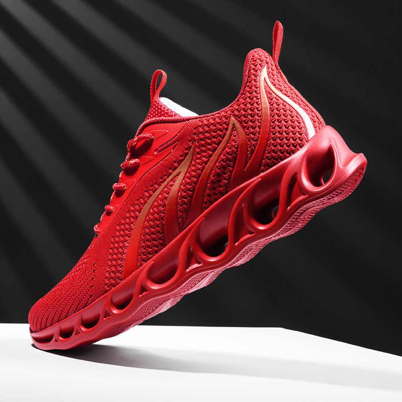 2019 mannen Loopschoenen mannelijke Sneakers voor mannen reizen sport run shose man walking sportschoenen zapatillas hombre Non slip