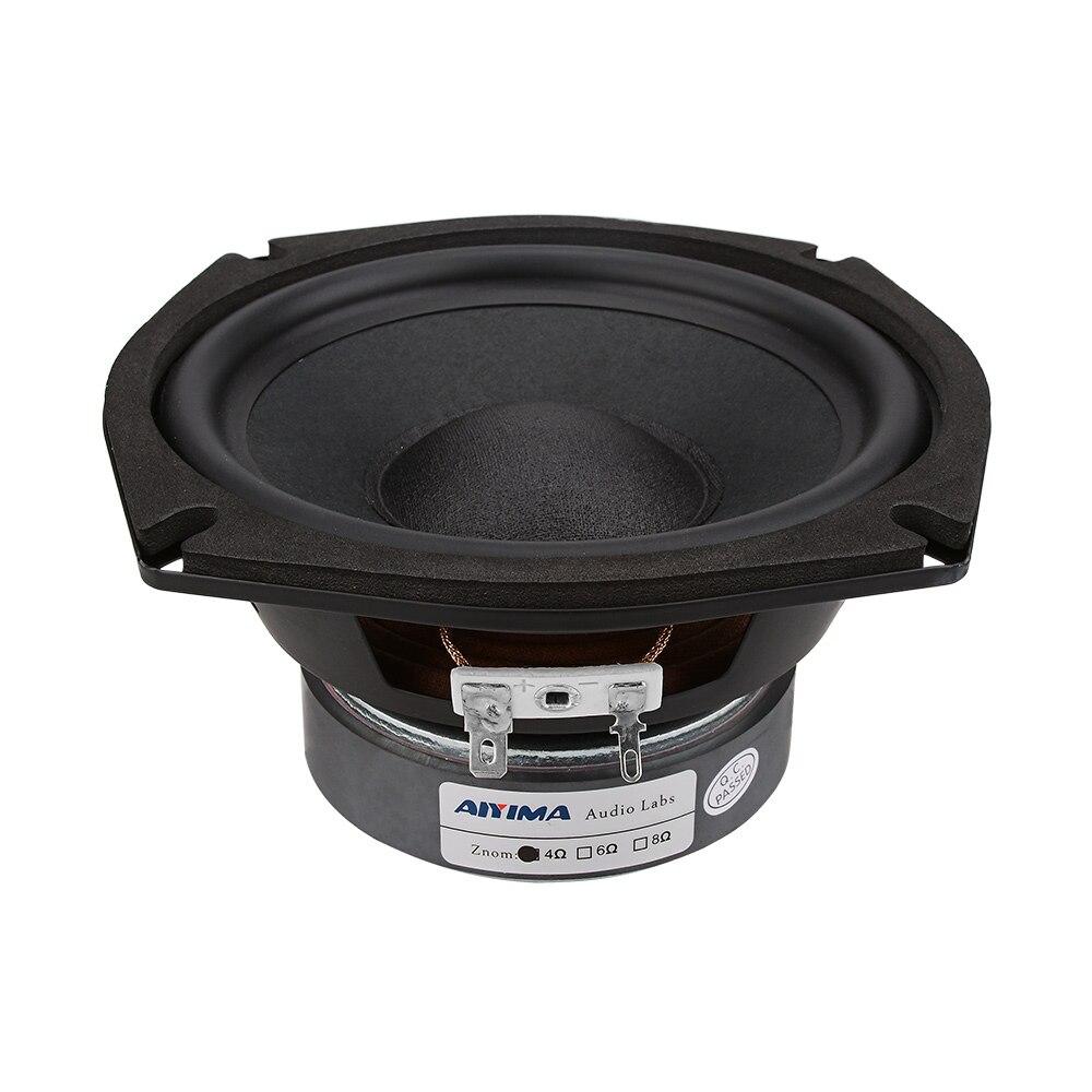 AIYIMA 5,25 дюймов 120 Вт НЧ динамик драйвер 4 Ом 8 Ом сабвуфер динамик s музыка бас аудио Колонка Громкий динамик для домашнего кинотеатра|Полочные АС|   | АлиЭкспресс