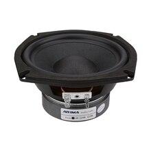 AIYIMA 5.25 pouces 120W Woofer haut parleur pilote 4Ohm 8 ohms Subwoofer haut parleurs musique basse Audio colonne haut parleur pour Home cinéma