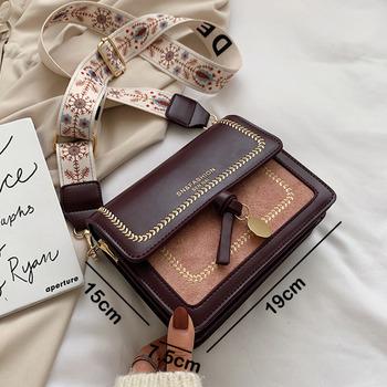 Nowe torebki Crossbody dla kobiet 2020 torebki luksusowych marek projektant kobiet skórzana torba na ramię panie torebki woreczki strunowe tanie i dobre opinie aihuijia Flap Torby na ramię Na ramię i torby crossbody CN (pochodzenie) Hasp SOFT Klapa kieszeni Moda bags for women 2020